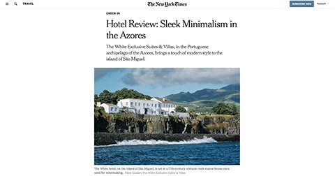 NEW YORK TIMES, White Exclusive Suites
